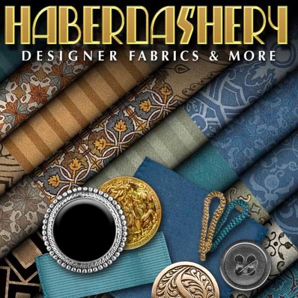 Digital 3D Texture Set - Haberdashery Luxury Suit
