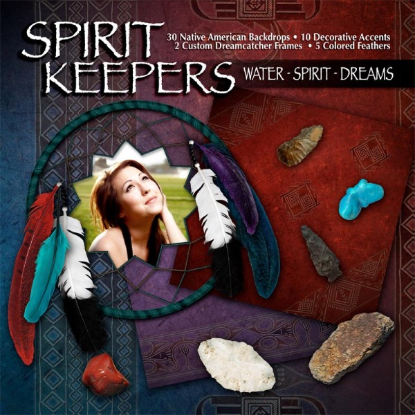 Digital Scrapbooking Kits - Water Spirit Dreams