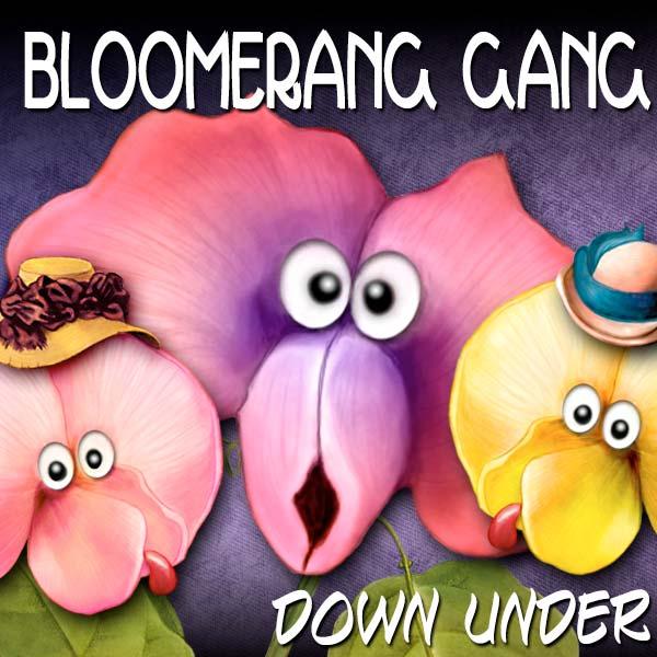 Digital Scrapbooking Kits - Bloomerangs Down Under