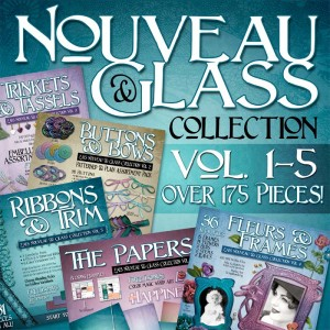 Nouveau Glass Scrapbook Bundle