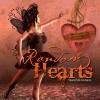 Digital Backgrounds - Random Hearts Valentine's Day