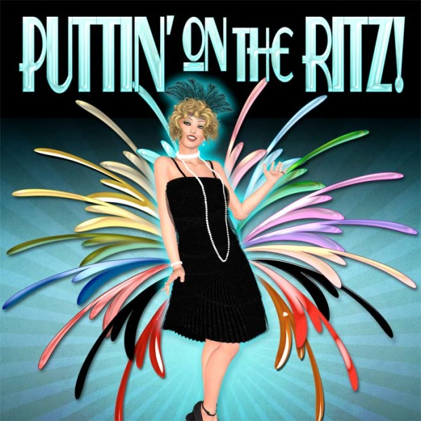 Digital Scrapbooking Papers - Puttin' on the Ritz