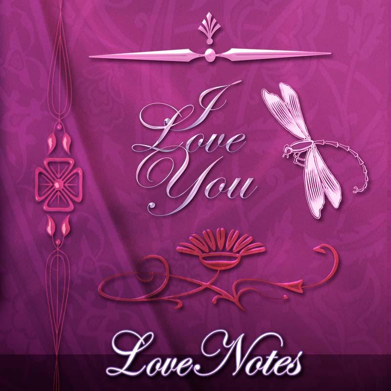 Free Scrapbook Love Note