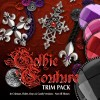 Digital 3D Textures - Gothic Couture Trim Pack
