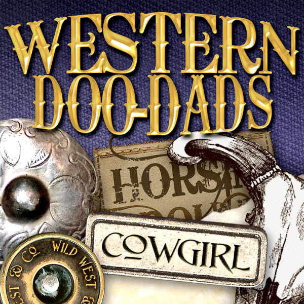 Digital Scrapbooking Kits - Western Doodads